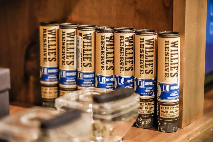 resins and willie's reserve at silver sage wellness